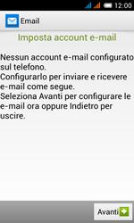 Alcatel One Touch Pop C3 - E-mail - configurazione manuale - Fase 10