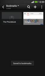 HTC Desire 500 - Internet - Internet browsing - Step 12
