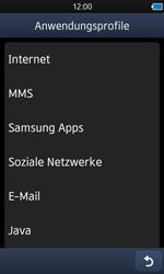 Samsung Wave 3 - Internet - Manuelle Konfiguration - 2 / 2