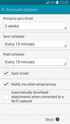 Samsung G850F Galaxy Alpha - E-mail - Manual configuration IMAP without SMTP verification - Step 17