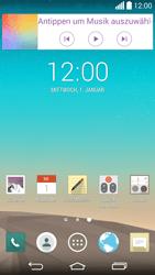 LG G3 - Startanleitung - Installieren von Widgets und Apps auf der Startseite - Schritt 8