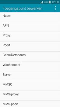 Samsung Galaxy Note 4 - internet - handmatig instellen - stap 10