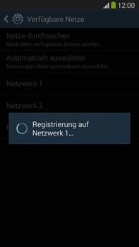 Samsung Galaxy Note III LTE - Netzwerk - Manuelle Netzwerkwahl - Schritt 9