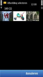 Nokia N8-00 - MMS - afbeeldingen verzenden - Stap 12