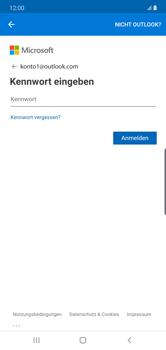 Samsung Galaxy Note 10 Plus 5G - E-Mail - 032c. Email wizard - Outlook - Schritt 9