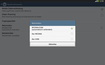 Samsung P5220 Galaxy Tab 3 10-1 LTE - Netzwerk - Netzwerkeinstellungen ändern - Schritt 7