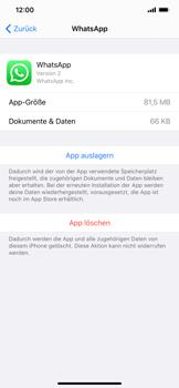 Apple iPhone XS Max - iOS 13 - Apps - Eine App deinstallieren - Schritt 6