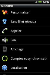 HTC A510e Wildfire S - Internet - Configuration manuelle - Étape 4