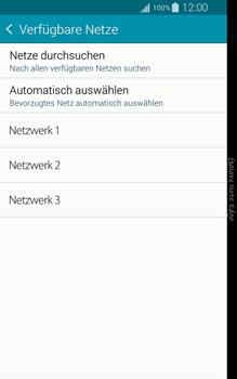 Samsung Galaxy Note Edge - Netzwerk - Manuelle Netzwerkwahl - Schritt 8