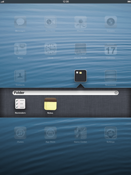 Apple iPad Retina - Getting started - Personalising your Start screen - Step 6