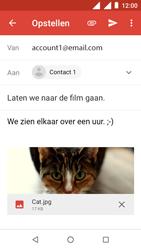 Nokia 1 - E-mail - E-mails verzenden - Stap 15