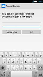 Alcatel One Touch Idol S - E-mail - manual configuration - Step 11