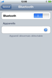 Apple iPhone 3G S - Bluetooth - connexion Bluetooth - Étape 8