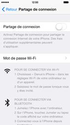 Apple iPhone 5 (iOS 8) - Internet et connexion - Partager votre connexion en Wi-Fi - Étape 5