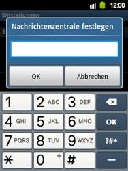 Samsung Galaxy Y - SMS - Manuelle Konfiguration - 1 / 1