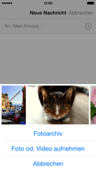 Apple iPhone 5s - MMS - Erstellen und senden - 11 / 17