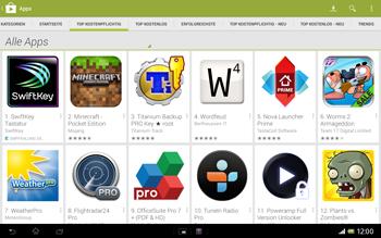 Sony Xperia Tablet Z LTE - Apps - Herunterladen - 7 / 21