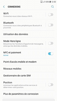 Samsung Galaxy J7 (2017) - MMS - Configuration manuelle - Étape 5