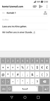 LG Q6 - E-Mail - E-Mail versenden - 11 / 20