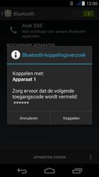 Acer Liquid Jade - Bluetooth - verbinden met ander Bluetooth apparaat - Stap 7