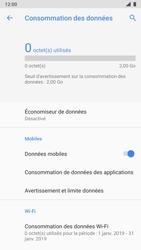 Nokia 8 - Android Pie - Internet et roaming de données - Comment vérifier que la connexion des données est activée - Étape 7