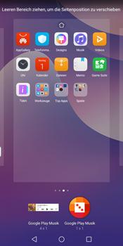 Huawei Y7 (2018) - Startanleitung - Installieren von Widgets und Apps auf der Startseite - Schritt 8