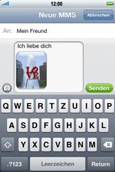 Apple iPhone 3GS - MMS - Erstellen und senden - 14 / 16