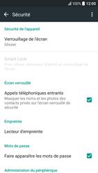 HTC 10 - Sécuriser votre mobile - Activer le code de verrouillage - Étape 5
