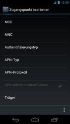 Samsung Galaxy Nexus - MMS - Manuelle Konfiguration - 10 / 14