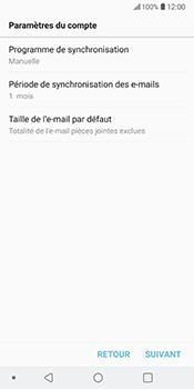 LG V30 - E-mail - 032b. Email wizard - Yahoo - Étape 13
