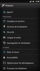 Sony Xperia S - Logiciels - Installation de mises à jour - Étape 5