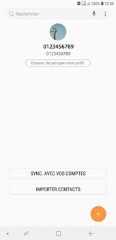 Samsung Galaxy J4+ - Contact, Appels, SMS/MMS - Ajouter un contact - Étape 5
