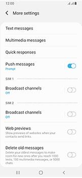 Samsung Galaxy A40 - SMS - Manual configuration - Step 8