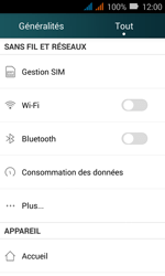 Huawei Y3 - Internet - Configuration manuelle - Étape 6