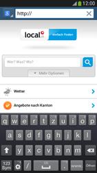 Samsung Galaxy S 4 Mini LTE - Internet und Datenroaming - Verwenden des Internets - Schritt 17