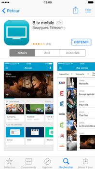 Apple iPhone 6s - Photos, vidéos, musique - Regarder la TV - Étape 2