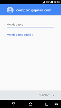 Sony Xperia Z5 Premium (E6853) - Android Nougat - E-mail - Configuration manuelle (gmail) - Étape 11