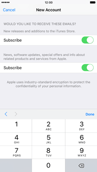 Apple iPhone 6 Plus iOS 9 - Applications - Setting up the application store - Step 16