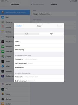Apple ipad-air-10-5-inch-2019-model-a2123-ipados-13 - E-mail - Account instellen (POP3 zonder SMTP-verificatie) - Stap 11