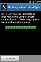 Samsung Galaxy Ace - Apps - Konto anlegen und einrichten - 17 / 22