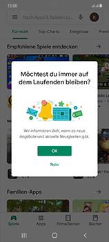Samsung Galaxy Note 20 5G - Apps - Nach App-Updates suchen - Schritt 5
