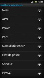Sony MT27i Xperia Sola - Internet - Configuration manuelle - Étape 11