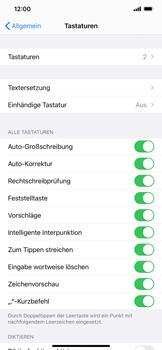 Apple iPhone 11 Pro Max - iOS 14 - Startanleitung - So fügen Sie eine Tastatursprache hinzu - Schritt 5