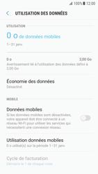 Samsung Galaxy S7 - Android N - Internet et roaming de données - Comment vérifier que la connexion des données est activée - Étape 6