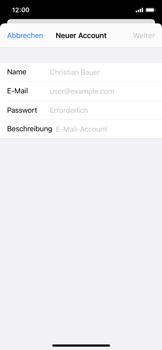 Apple iPhone X - iOS 14 - E-Mail - Manuelle Konfiguration - Schritt 7
