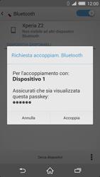 Sony Xperia Z2 - Bluetooth - Collegamento dei dispositivi - Fase 7
