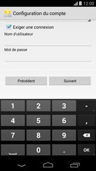 Motorola Moto G - E-mail - Configurer l