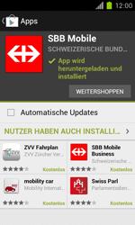 Samsung Galaxy S II - Apps - Installieren von Apps - Schritt 23