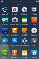 Samsung Wave M - Internet et connexion - Partager votre connexion en Wi-Fi - Étape 3