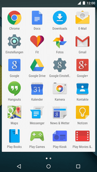Motorola Google Nexus 6 - MMS - Manuelle Konfiguration - 2 / 2